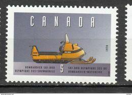 Canada, 1996, MNH, 1605e, Ski-doo, Moto Neige, Snowmobile, - Motorbikes