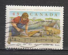 Canada, Construction De Bateau, Musique, Chanson, Ship Building, Music, Song, Scie, Maritime, Menuisier - Marittimi
