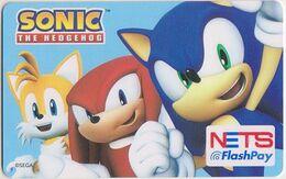 Singapore Cash Card Transport Card Unused Cashcard Sonic Hedgehog - Andere Sammlungen