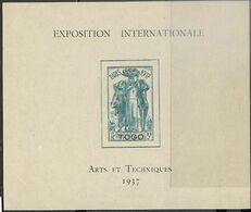 1937   Sc#264 Togo MLH Colonial Expo Souv Sheet  2016 Scott Value $10.50 - Ungebraucht