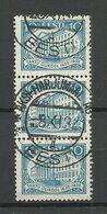 Estland Estonia 1932 O ÄKSI-HARJUMAAL AG Michel 95 As 3-stripe - Estland