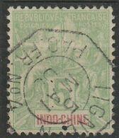 COLONIES - INDOCHINE - OBLITERATION PAQUEBOT SUR N° 17 - Indocina (1889-1945)