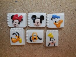 FEVE PLATE DISNEY DONALD MICKEY MINNIE DINGO PLUTO - Disney