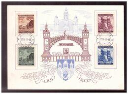 Böhmen U. Mähren (009701) Gedenkkarte Prager Messe 7.- 14. 9. 1941, Prag 13.9.1941 Sonderstempel, Engel: SB140c - Covers & Documents