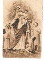 Image Pieuse / Marie +  Enfant Jesus Auréolés . - Andachtsbilder