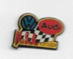 Pin's  Ville, Automobiles  V W  AUDI  M S A  MONTAUBAN  ( 82 ) - Volkswagen