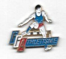 Pin's  Tricolore  Sport  Athlétisme, F.F.Athlétisme - Atletica