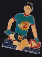 66770- Pin's.Greg LeMond  Né à Lakewood, En Californie, Est Un Coureur Cycliste Américain. - Ciclismo