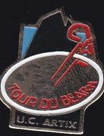 66773- Pin's.Cyclisme.Tour Du Béarn.Artix - Pyrénées Atlantiques - Ciclismo