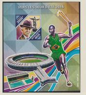 Niger 2016 Rio De Janeiro Olympic Games Souvenir Sheet MNH/** (H28Large) - Summer 2016: Rio De Janeiro