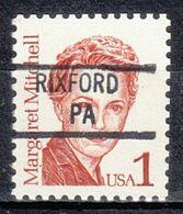 USA Precancel Vorausentwertung Preo, Locals Pennsylvania, Rixford 841 - Vereinigte Staaten