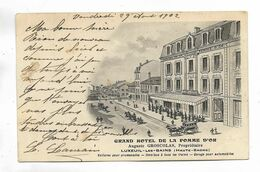 70 - LUXEUIL-les-BAINS ( Haute-Saône ) Grand Hôtel De La Pomme D' Or. Propriétaire : Auguste GROSCOLAS - Luxeuil Les Bains