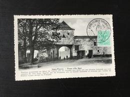 CP Ancienne De Ligny : Ferme D'En Haut. + Cachet Temporaire Napoléon Du 16/06/1973 - Sombreffe