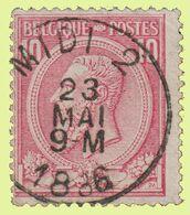 "COB N°46 - Belle Oblitération Ambt. ""MIDI 2"" - 1884-1891 Leopold II"