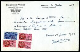 Numismatique - Autographe De Clément SERVEAU (1886-1972) - ARTISTE-PEINTRE D'un Billet BDF - LOUIS XIV - Billets