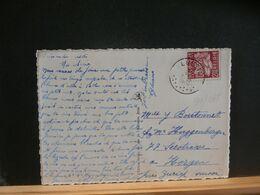 91/035  CP  BELGE POUR LA SUISSE  OBL. LUSTIN - 1948 Export