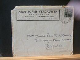 91/036   LETTRE  BELGE ENTETE   OBL. SINT AMANDS - 1948 Export