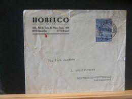 91/037   LETTRE  BELGE ENTETE   1949 - 1948 Export