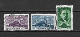URSS - 1948 - N. 1185/87 USATI (CATALOGO UNIFICATO) - Usati
