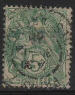 FR 1827 - FRANCE N° 111 Obl. Type Blanc - 1900-29 Blanc