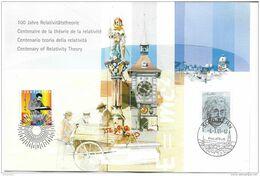 """GG - Document Suisse """"100 Ans Théorie Relativité Einstein 2005"""" - Albert Einstein"""
