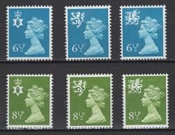 Grande-Bretagne 1977. Michel N° ??? Ou Y&T N° 774/79, MNH, **, Neufs. - Nuovi