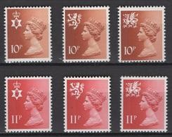 Grande-Bretagne 1977. Michel N° ??? Ou Y&T N° 807/12, MNH, **, Neufs. - Nuovi