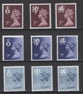Grande-Bretagne 1977. Michel N° ??? Ou Y&T N° 846/54, MNH, **, Neufs. - Nuovi