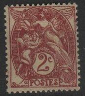 FR 1828 - FRANCE N° 108 Neuf** Type Blanc - 1900-29 Blanc