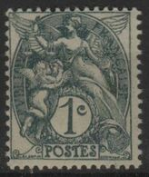 FR 1828 - FRANCE N° 107 Neuf** Type Blanc - 1900-29 Blanc