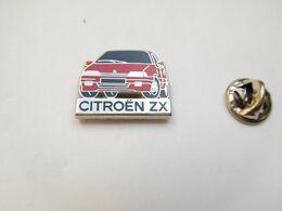 Beau Pin's En Zamac , Auto Citroën ZX , Signé Decat - Citroën