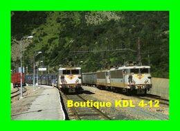 RU 0235 - Trains - Loco BB 8644 Et BB 8628 En Gare - L'HOSPITALET PRES L'ANDORRE - Ariège - SNCF - Altri Comuni