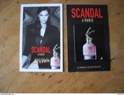 Carte Gaultier Scandal à Paris A/patch - Modernes (à Partir De 1961)