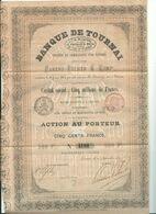(action)     Banque De Tournai - Autres