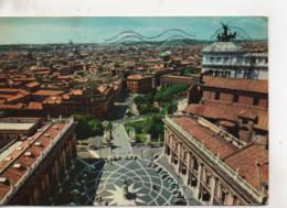 Cpa.Italie.Roma.1969.Panorama Du Capitole. - Panoramic Views