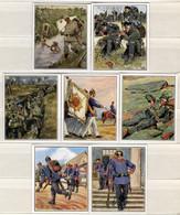 XRH+ Waldorf-Astoria Zigarettenbilder. Das Reichsheer Und Seine Tradition. Bild 99-105 GH - Autres Marques