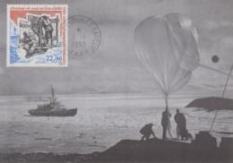 Carte  Maximum  1er  Jour   T.A.A.F    Sondage  Du   Vent  En  Terre   Adélie    1993 - Covers & Documents