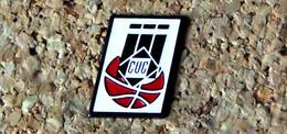 Pin's BASKET - CUC Clermont Université Club (63) - Peint Cloisonné - Fabricant Inconnu - Baloncesto