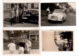 8 Fotos Mit KFZ, SI Kennzeichen (z6369) - Automobili
