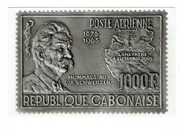 GABON DR A SCHWEITZER 1875 1965 LAMBARENE Reproduction D'un Timbre-poste - Gabon