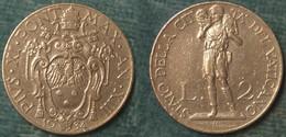 M_p> Vaticano Pio XI 2 Lire 1934 - 50.000 Pz Coniati - Vaticano