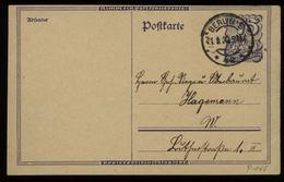 S5767 DR Infla GS Postkarte :gebraucht Berlin 1922, Bedarfserhaltung. - Brieven En Documenten
