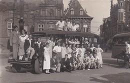 276746Heemskerk, Autobus Jac. Heemskerk, Autotocht Naar Arnhem Zondag 17 Juni 1934 + Autobus Met Tekst Natuurvriend (O - Sonstige