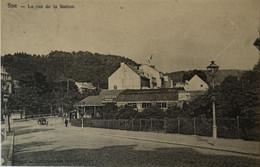 Spa // LA Rue De La Station 1907 - Spa