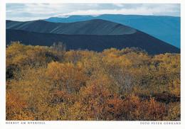 1 AK Island / Iceland * Herbst Am Krater Hverfjall (auch Hverfell) - Er Gehört Zum Vulkansystem Der Krafla * - Islanda