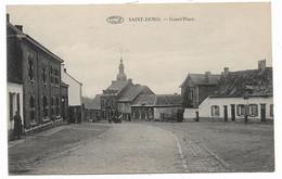 Mons - Saint - Denis Grand' Place - Circulé: 1925 - 2 Scans - Mons