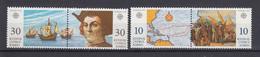 & Chypre 790 / 793 . Christophe Colomb Gallion Explorateur ..  Europa CEPT 1992 ** MNH ... Cote YT 2020 = 5.00 - Europa-CEPT