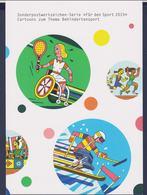 Germany Folder 2015 Handicap Sport - Für Den Sport Welfare Stamps  (LAR10-10) - Handisport