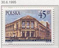 Poland 1995 Mi 3546, 125 Years Of Bank Handlowy Building In Warsaw MNH** - Ungebraucht