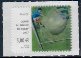 YT AA 128-ADH Coupe Du Monde De Rugby 2007 NEUF - Autoadesivi